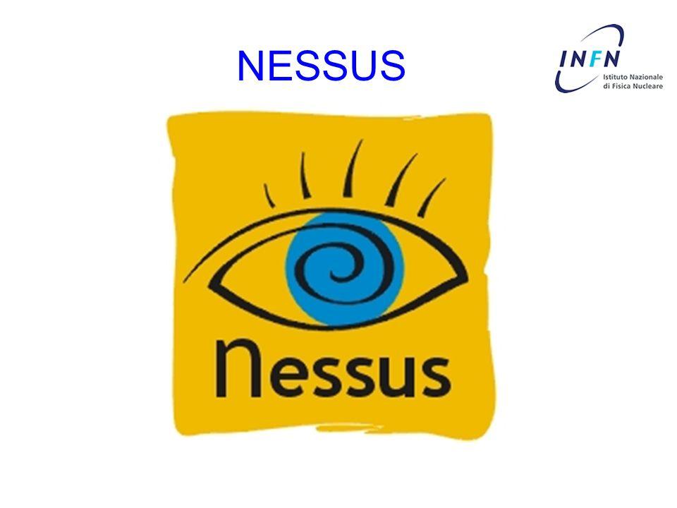 Cosa e Nessus Nessus e un Vulnerability Scanner: Esegue dei test su uno o piu nodi di una o piu reti alla ricerca di buchi di sicurezza