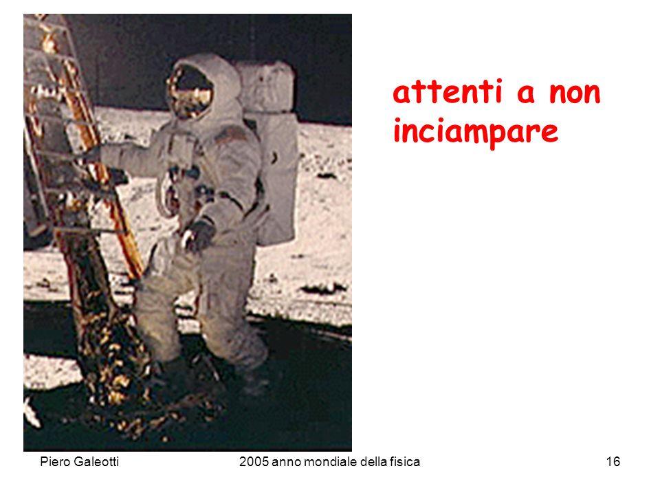 Piero Galeotti2005 anno mondiale della fisica16 attenti a non inciampare