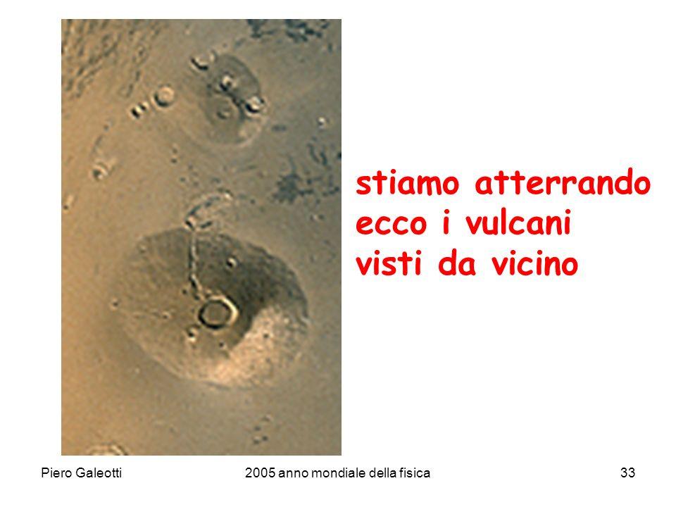 Piero Galeotti2005 anno mondiale della fisica33 stiamo atterrando ecco i vulcani visti da vicino