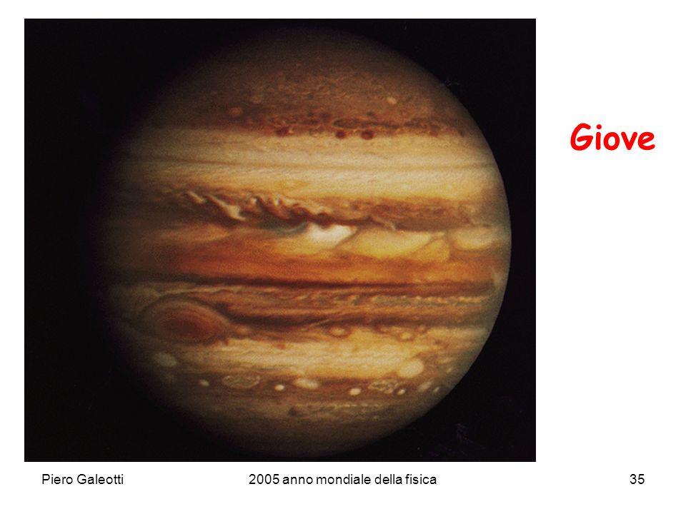 Piero Galeotti2005 anno mondiale della fisica35 Giove