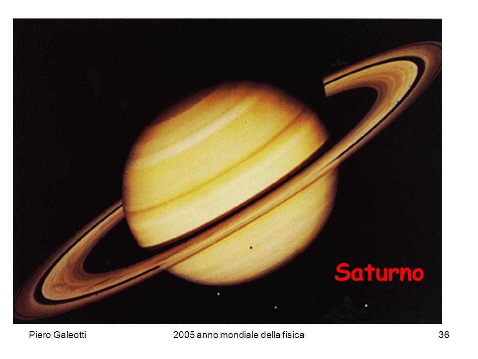 Piero Galeotti2005 anno mondiale della fisica36 Saturno