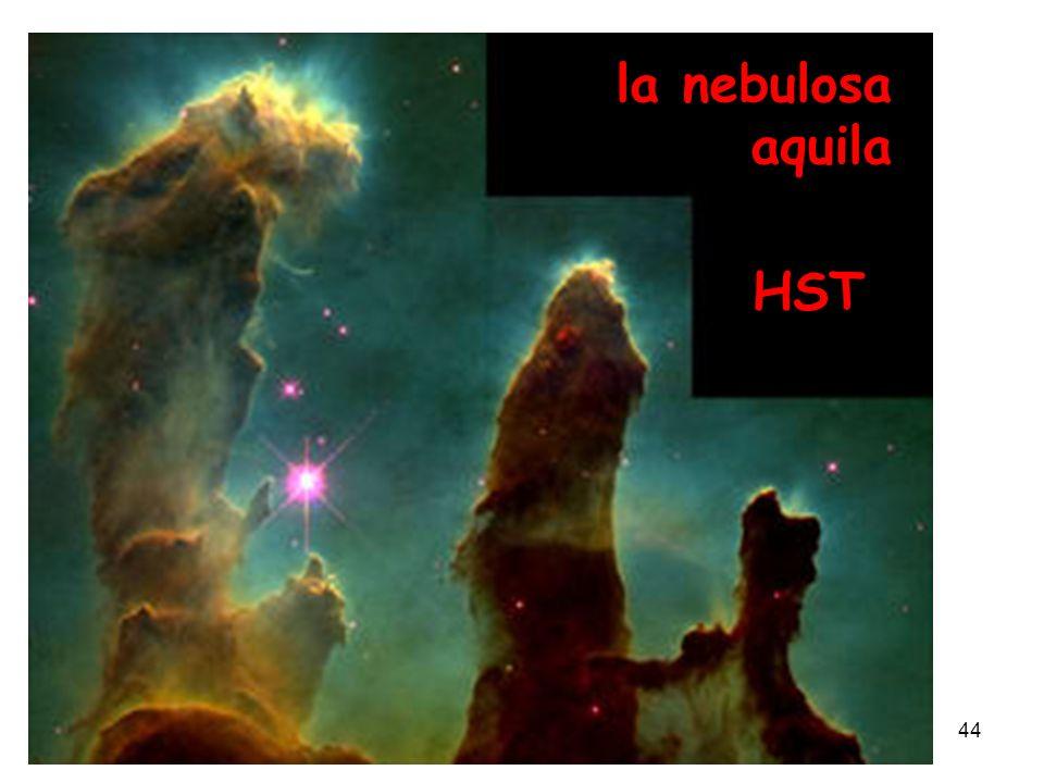 Piero Galeotti2005 anno mondiale della fisica44 la nebulosa aquila HST