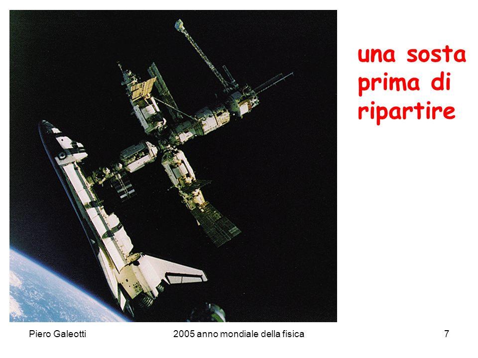 Piero Galeotti2005 anno mondiale della fisica8 prendiamo la rincorsa e..... via!