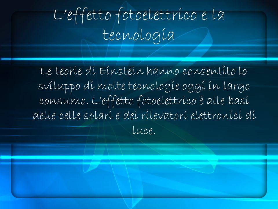 Le teorie di Einstein hanno consentito lo sviluppo di molte tecnologie oggi in largo consumo.
