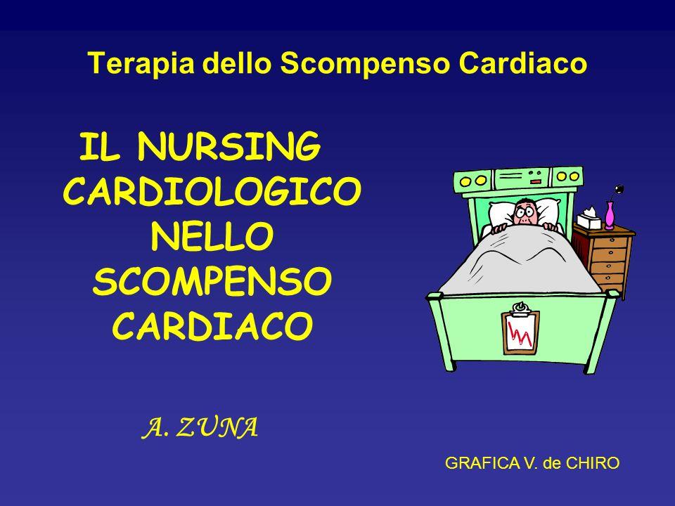 Terapia dello Scompenso Cardiaco IL NURSING CARDIOLOGICO NELLO SCOMPENSO CARDIACO A. ZUNA GRAFICA V. de CHIRO