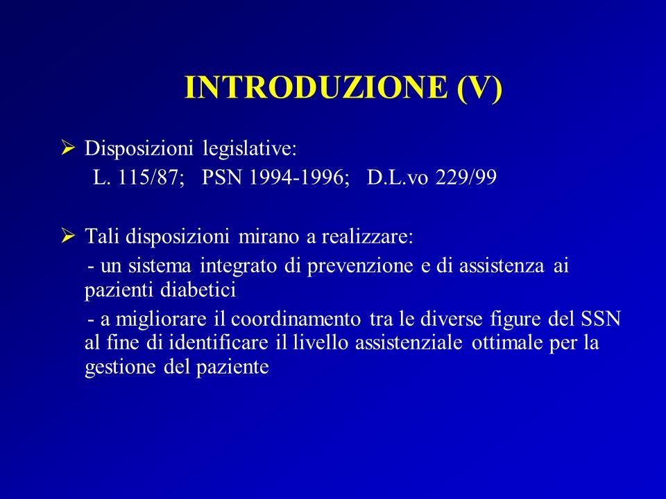 Disposizioni legislative: L.