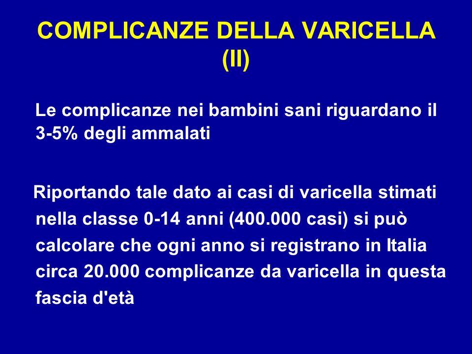 La regione Sicilia ha introdotto la vaccinazione universale gratuita per tutti i nuovi nati alletà di 15 mesi, per i dodicenni con anamnesi negativa, per la profilassi post- esposizione.
