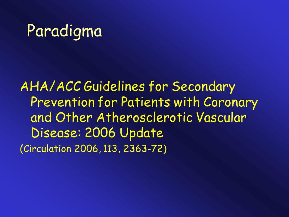 Obiettivo fumocessazione PA< 140/90 (130/80) Colesterolo LDL< 100 Attività fisica30 min 7 giorni/sett.