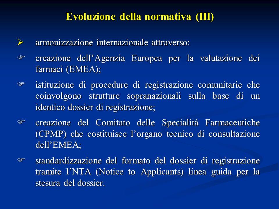 Losservanza delle GCP, in Europa, è richiesta dalla direttiva 91/507; recepita, in Italia, con il D.M.