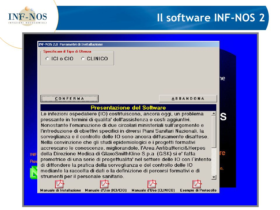Il software INF-NOS 2