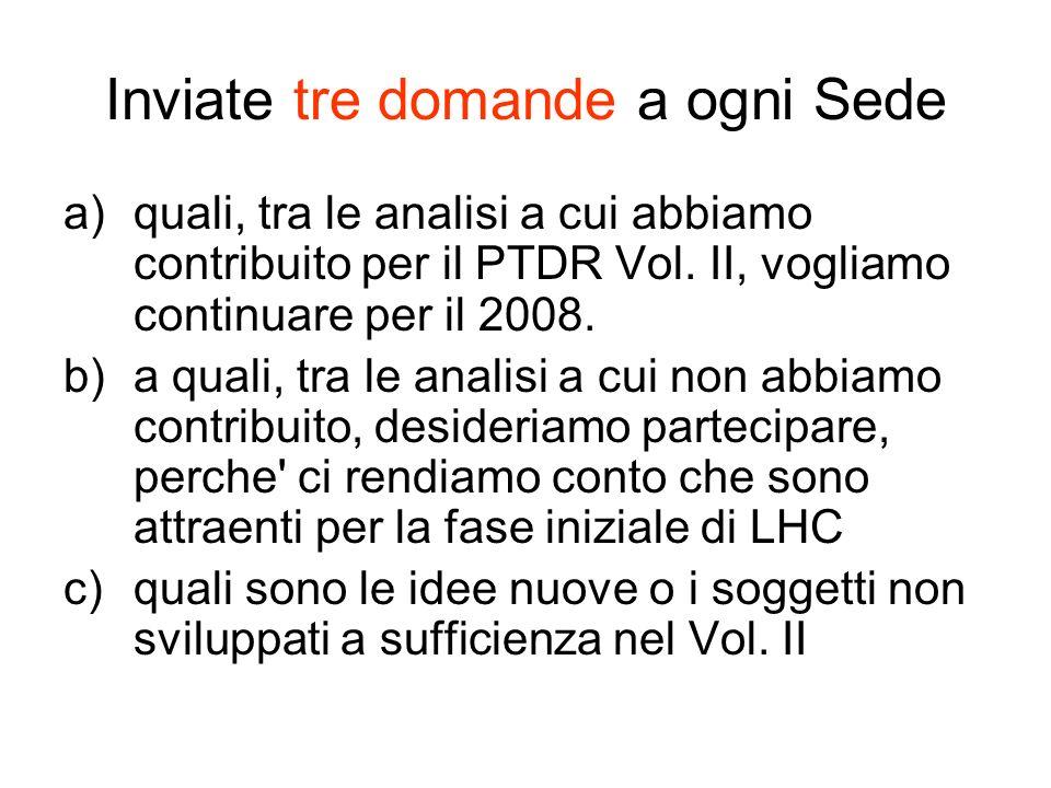 Commenti e proposte per Linee Guida (II) La luminosita int.