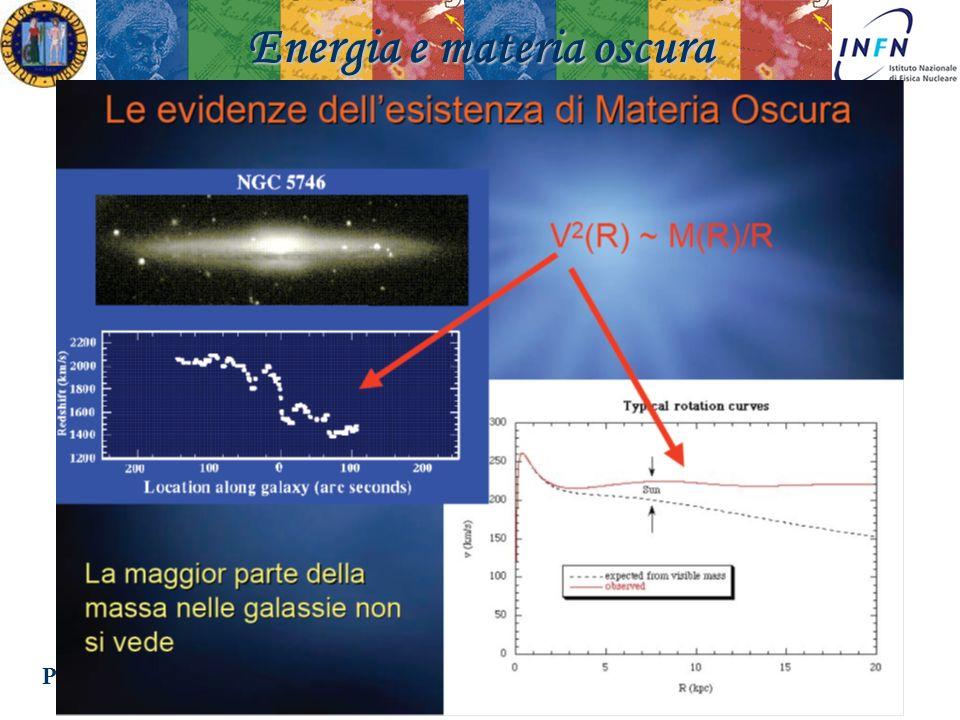 Padova 18 Novembre 2008Ezio Torassa Energia e materia oscura
