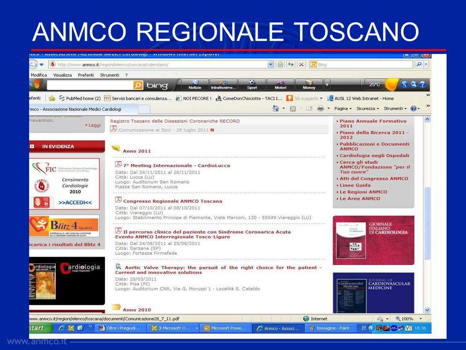 ANMCO REGIONALE TOSCANO