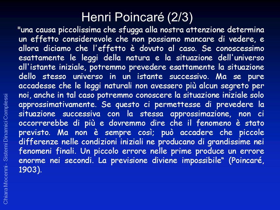 Chiara Mocenni - Sistemi Dinamici Complessi