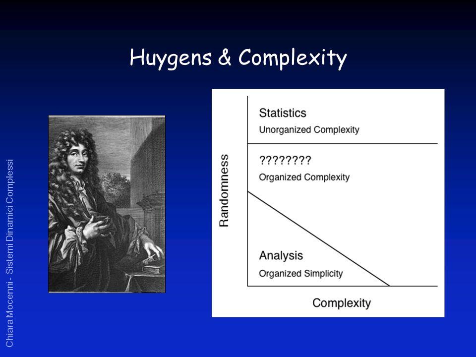 Chiara Mocenni - Sistemi Dinamici Complessi Huygens & Complexity