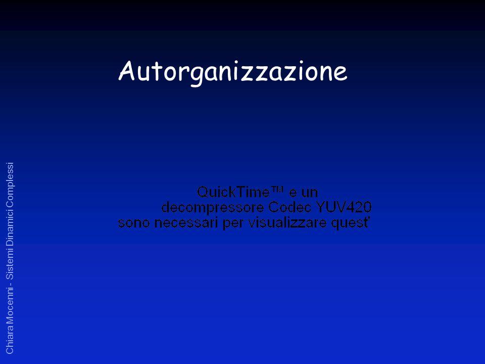 Chiara Mocenni - Sistemi Dinamici Complessi Autorganizzazione