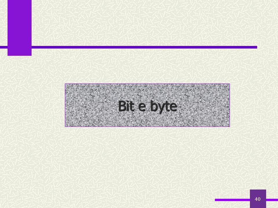 40 Bit e byte