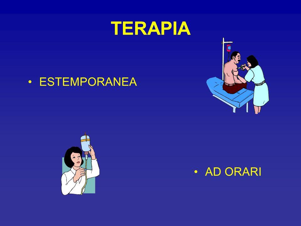 TERAPIA ESTEMPORANEA AD ORARI