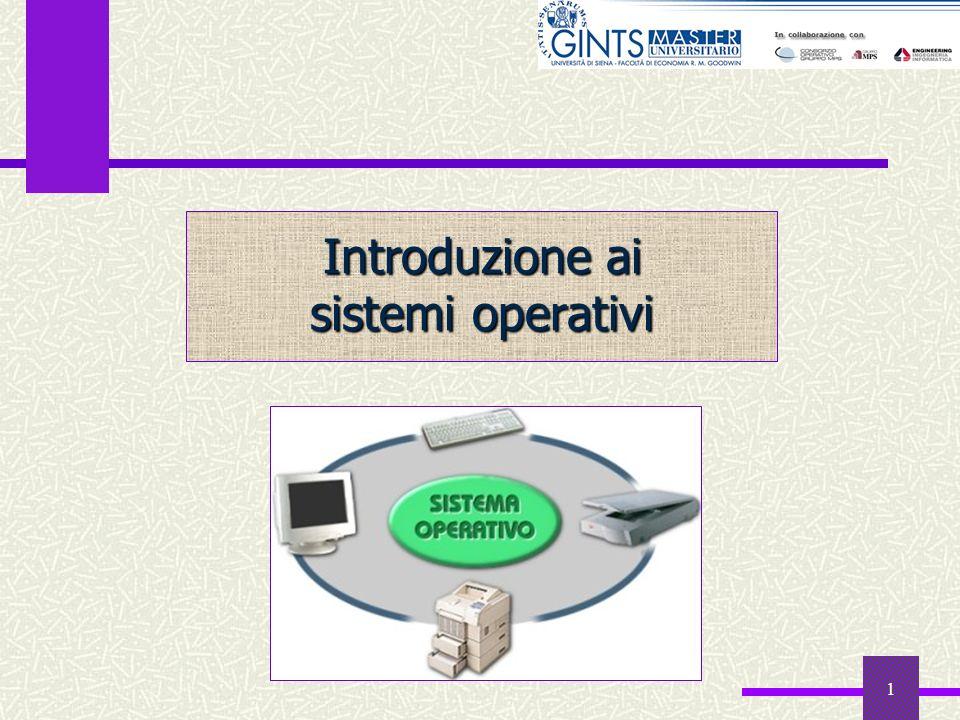 1 Introduzione ai sistemi operativi