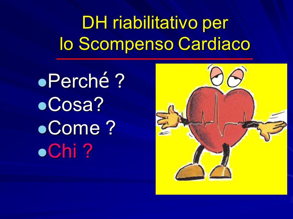 DH riabilitativo per lo Scompenso Cardiaco Perch é ? Perch é ? Cosa? Cosa? Come ? Come ? Chi ? Chi ?