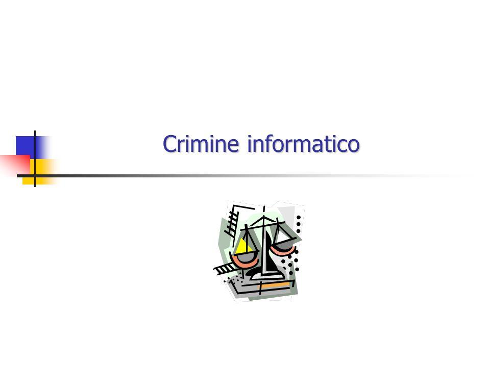 Crimine informatico