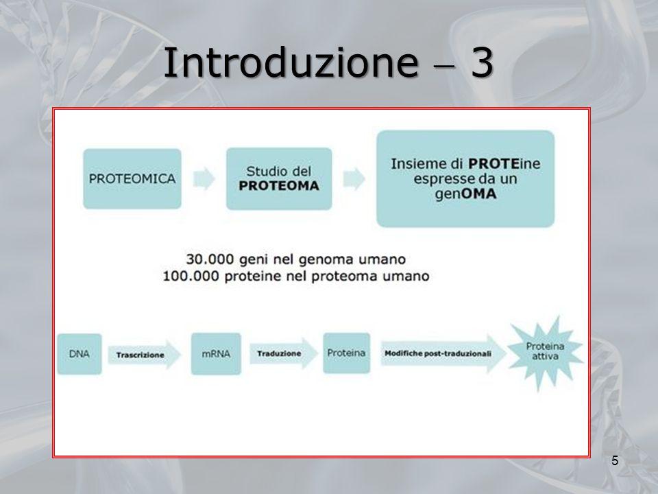 Microarray proteici 3 Per il momento (ed in attesa di tecniche di analisi automatica attendibili) è più semplice utilizzare i chip genetici come base, per puntare verso lo studio delle proteine di interesse Una volta ristretto il campo, le analisi proteomiche su piccoli sottoinsiemi di proteine verranno effettuate su chip proteici realizzati appositamente 36