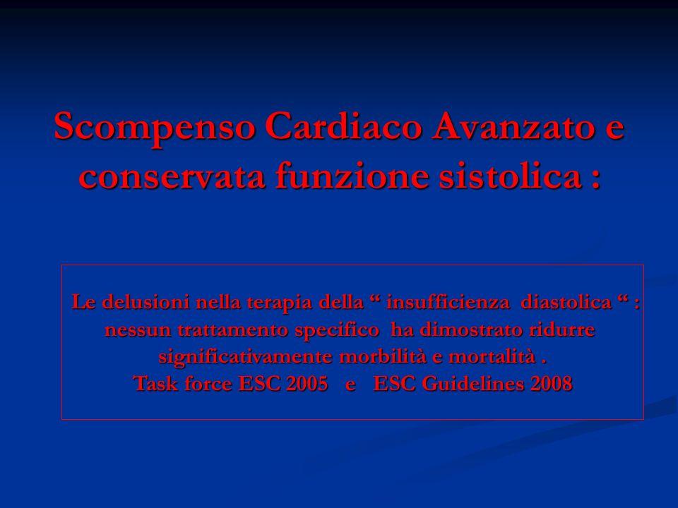 Nuove strategie per la prevenzione della Sindrome cardio-renale Nuove strategie per la prevenzione della Sindrome cardio-renale 1) Antagonisti dei recettori V2 della Vasopressina ( ADH ) : 1) Antagonisti dei recettori V2 della Vasopressina ( ADH ) : Tolvaptan EVEREST * Tolvaptan EVEREST * 2) B-type Natriuretic Pepetide from recombinant technology : 2) B-type Natriuretic Pepetide from recombinant technology : Nesiritide NAPA BNP-CARDS FUSION II * Nesiritide NAPA BNP-CARDS FUSION II * 3) Antagonisti selettivi dei recettori A1 dell Adenosina : 3) Antagonisti selettivi dei recettori A1 dell Adenosina : Rolofylline ( KW-3902 ) PROTECT * Rolofylline ( KW-3902 ) PROTECT * 4) Ultrafiltrazione lenta 4) Ultrafiltrazione lenta RAPID EUPHORIA UNLOAD SCUF RAPID EUPHORIA UNLOAD Trattamenti indicati quando i diuretici dellansa sono inefficaci o inappropriati Trattamenti indicati quando i diuretici dellansa sono inefficaci o inappropriati ( ipotetico effetto di protezione sul danno renale da diuretici ).