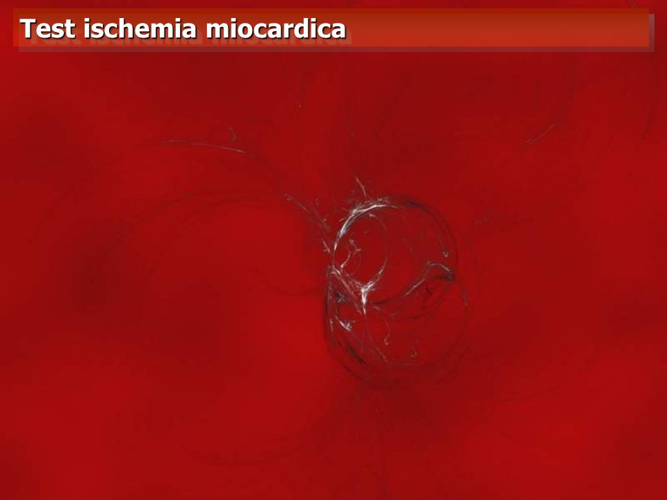 Test ischemia miocardica