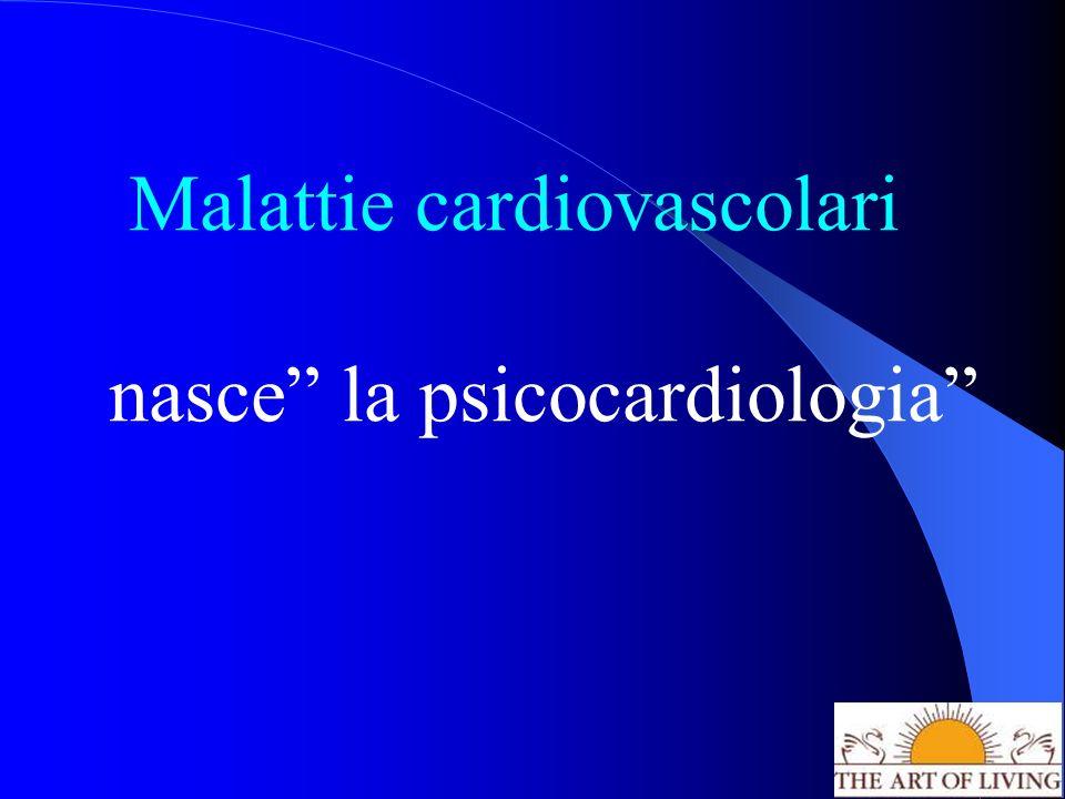 Malattie cardiovascolari nasce la psicocardiologia