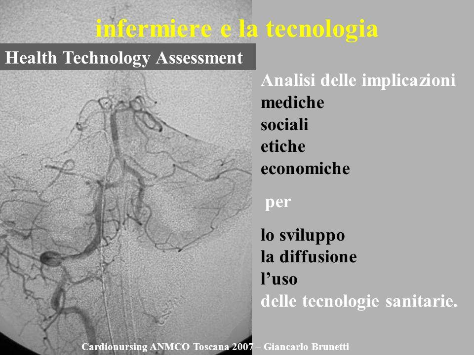 infermiere e la tecnologia Analisi delle implicazioni mediche sociali etiche economiche per lo sviluppo la diffusione luso delle tecnologie sanitarie.