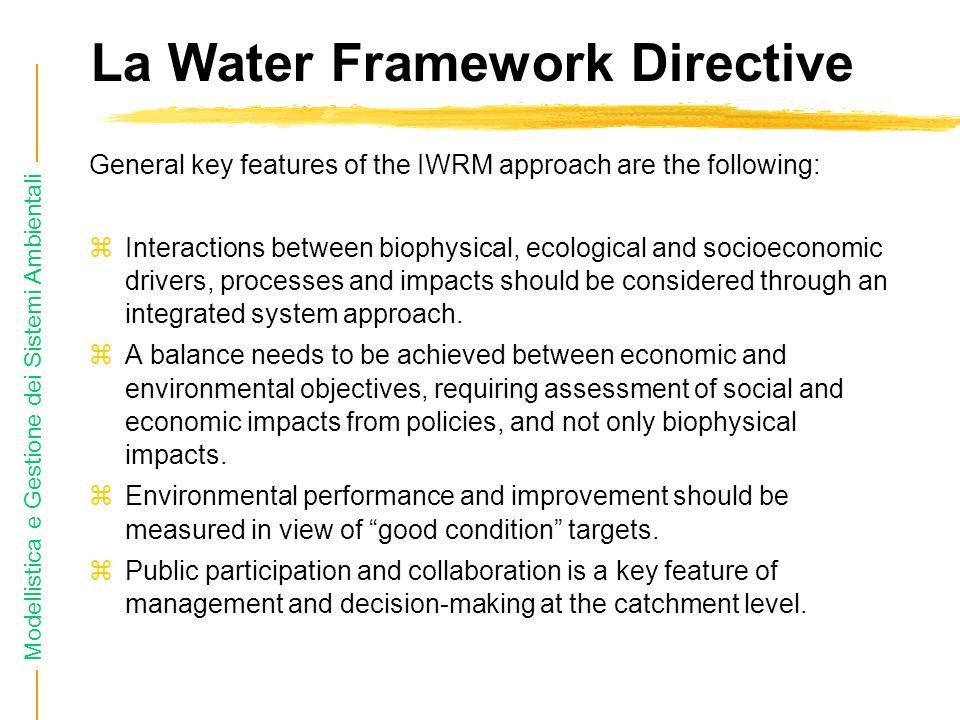 Modellistica e Gestione dei Sistemi Ambientali Il ciclo dellacqua L acqua presente in natura circola e si trasforma nell idrosfera seguendo dei percorsi che costituiscono il cosiddetto ciclo idrologico .