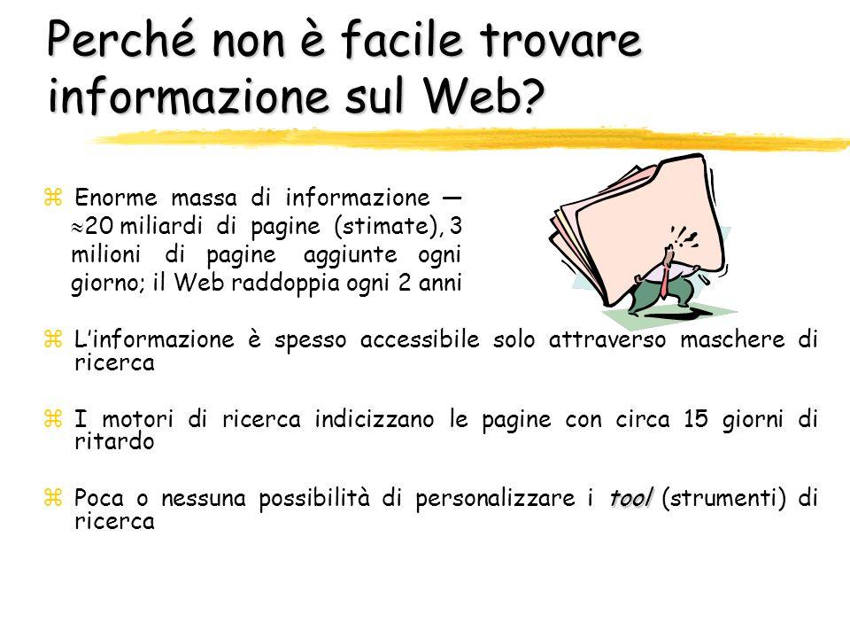 Parte 4 Ricerca di informazione sul Web