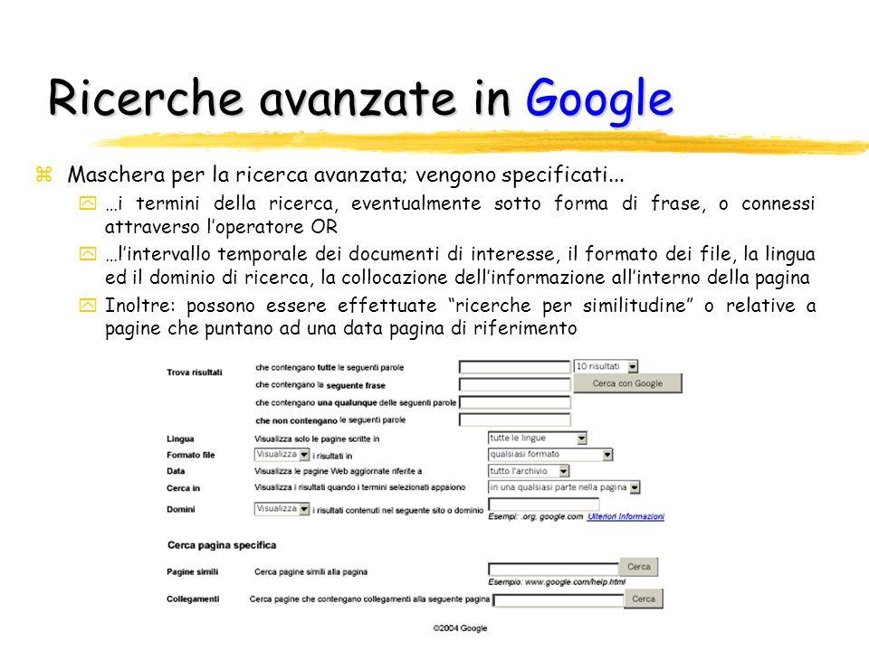 Lettere maiuscole/minuscole o accenti zGoogle zGoogle non fa distinzione tra lettere minuscole e maiuscole, poiché considera tutte le lettere come minuscole; ad esempio, digitando google, GOOGLE e GoOgLE si ottengono sempre gli stessi risultati Google zPer impostazione predefinita, Google non riconosce accenti o altri segni diacritici; in altre parole, se si digita [Muenchen] e [München] si ottengono sempre gli stessi risultati zPer fare una distinzione tra le parole, anteporre il segno +; ad esempio [+Muenchen] rispetto a [+München]