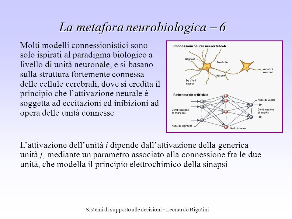 Sistemi di supporto alle decisioni - Leonardo Rigutini Whats new .