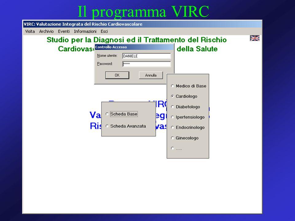 Il programma VIRC