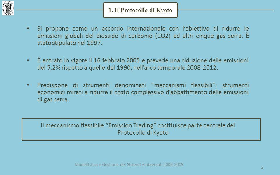 Si propone come un accordo internazionale con lobiettivo di ridurre le emissioni globali del diossido di carbonio (CO2) ed altri cinque gas serra.