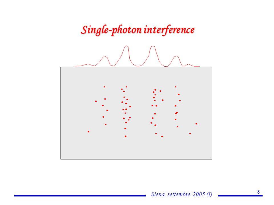 Siena, settembre 2005 (I) 19 Quantum effects: Partial reflection V(x) v v > V o v