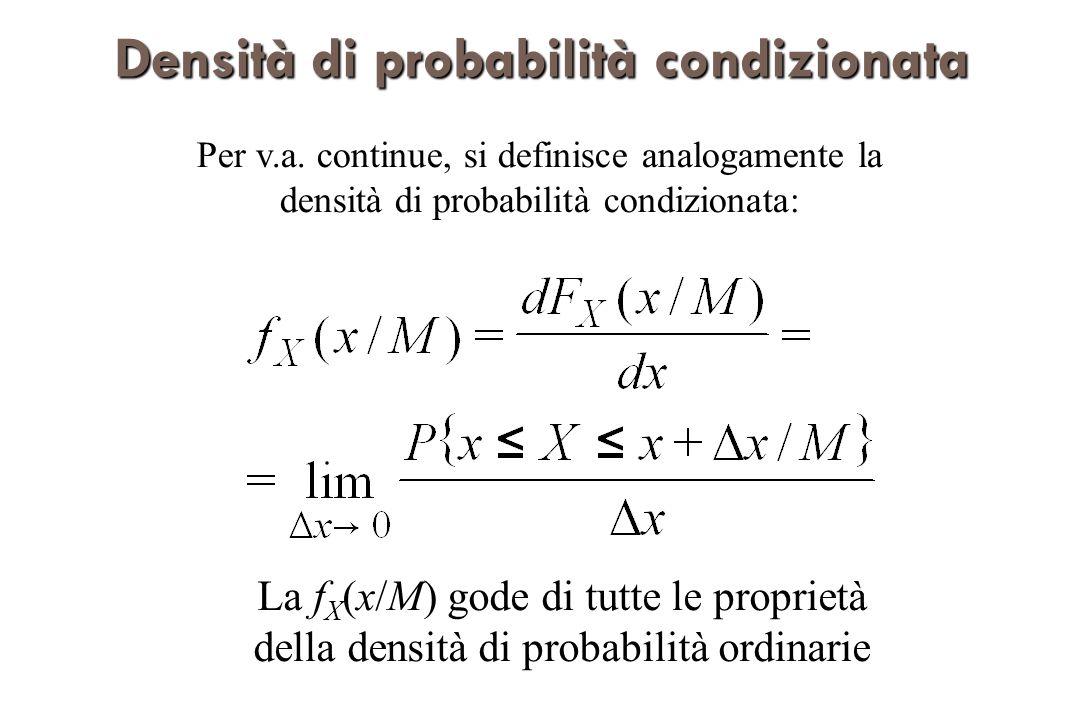 Affidabilitàcondizionata Affidabilità condizionata Con riferimento allaffidabilità del sistema si voglia valutare la probabilità di guasto, condizionata al fatto che il sistema sia ancora funzionante al tempo t