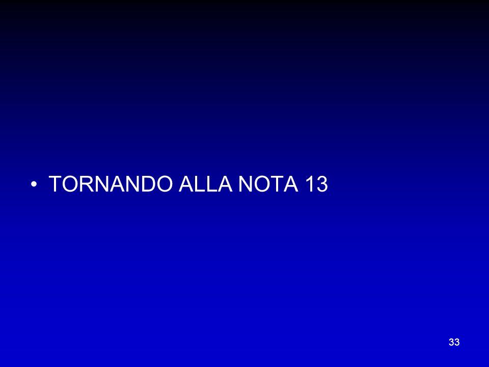 33 TORNANDO ALLA NOTA 13