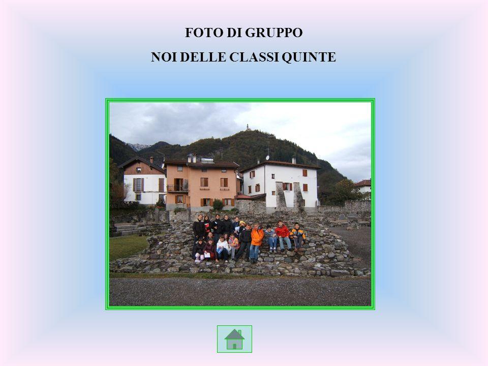 FOTO DI GRUPPO NOI DELLE CLASSI QUINTE