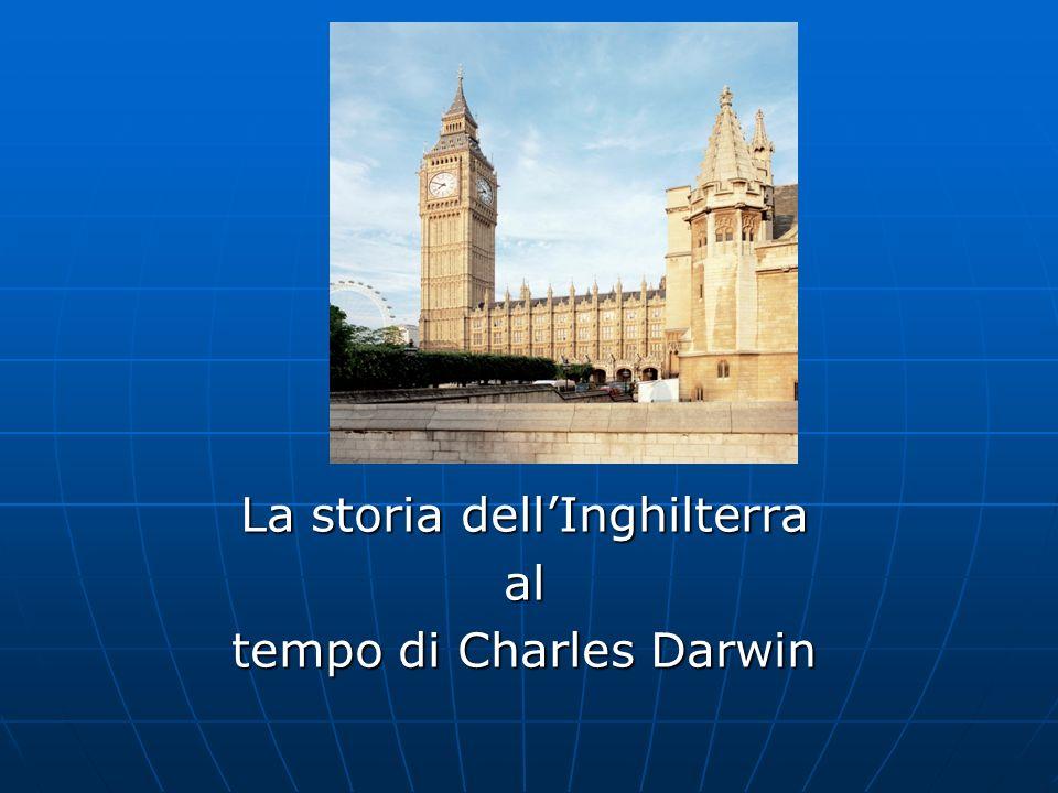 La storia dellInghilterra al tempo di Charles Darwin