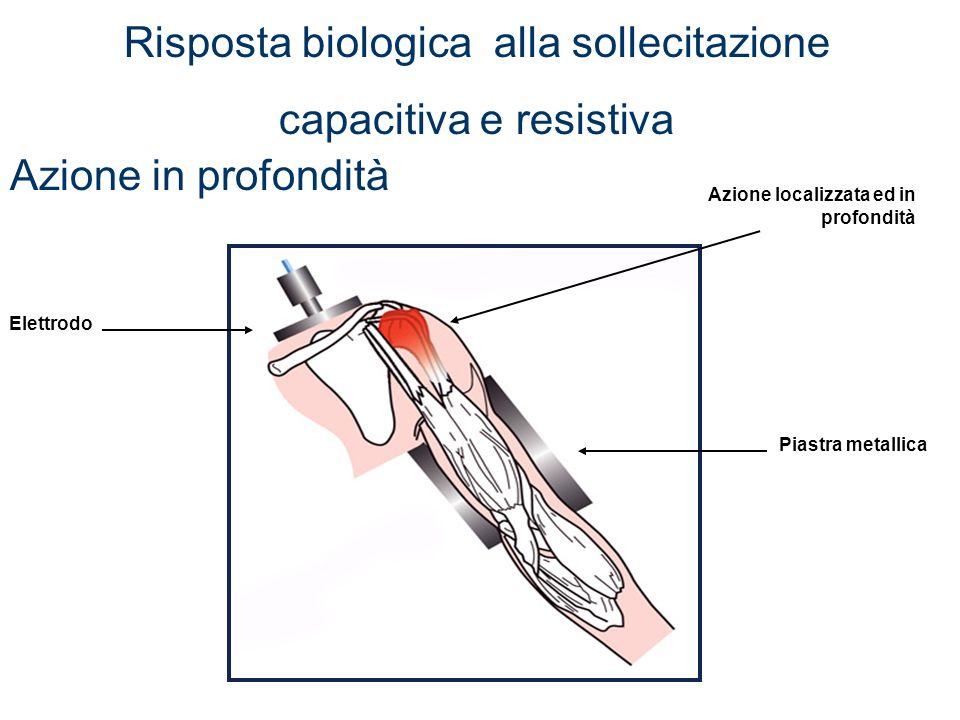 Movimento elettrolitico condizionato dalla forza applicata Vascolarizzazione Biostimolazione che attiva le soglie energetiche Ossigenazione Ipertermia Riattivazione delle attività metaboliche Trattamento Cellutrim Tessuto cicatriziale fibrosoTessuto sano