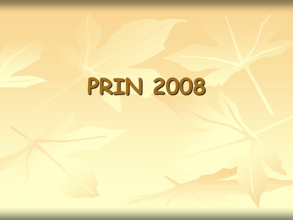PRIN 2008