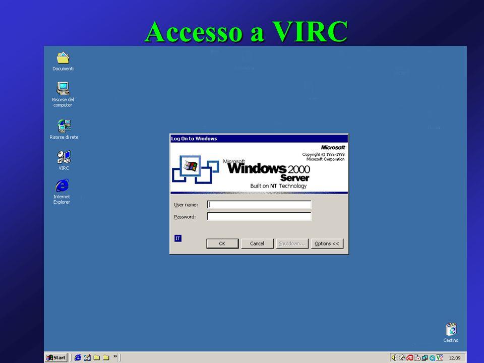 Accesso a VIRC