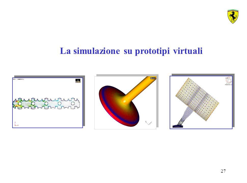 27 La simulazione su prototipi virtuali