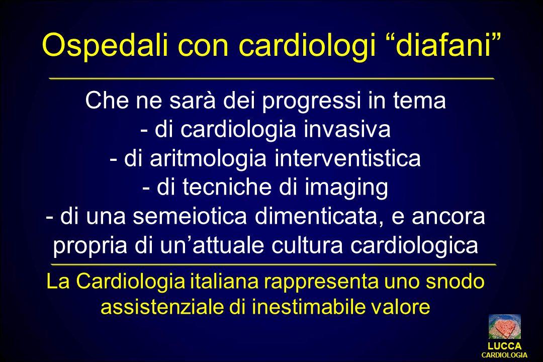 Che ne sarà dei progressi in tema - di cardiologia invasiva - di aritmologia interventistica - di tecniche di imaging - di una semeiotica dimenticata,