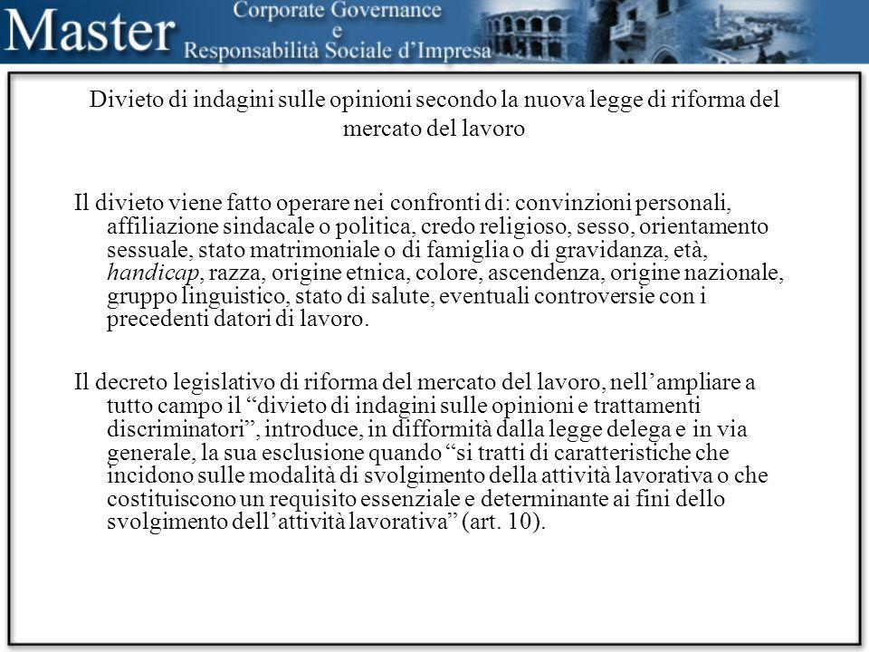 Principio della parità di trattamento con i lavoratori comparabili Il principio della parità di trattamento con i lavoratori comparabili si trova nelle direttive europee sui lavori atipici: -contratto a tempo parziale -contratto a tempo determinato -(contratto di lavoro interinale) -telelavoro