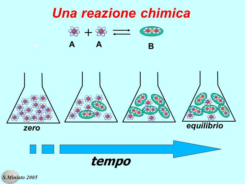 tempo Una reazione chimica zero equilibrio + S.Miniato 2005 AA B +