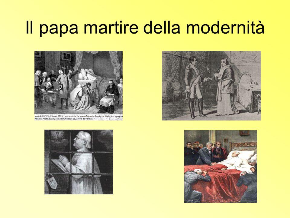 Il papa martire della modernità