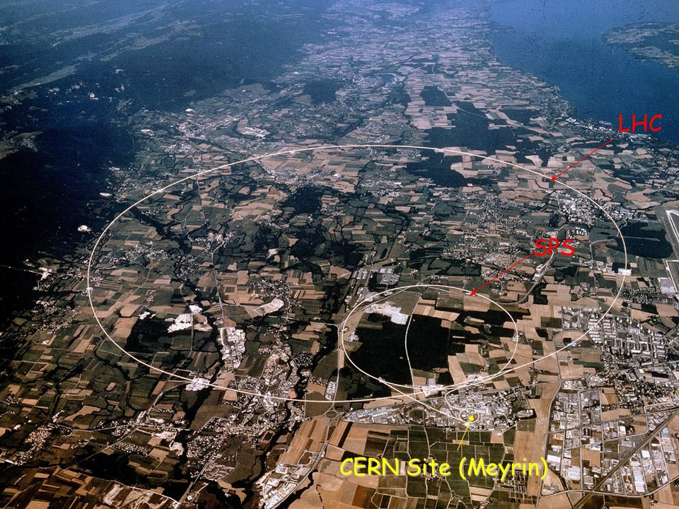 CERN Site LHC CERN Site (Meyrin) SPS